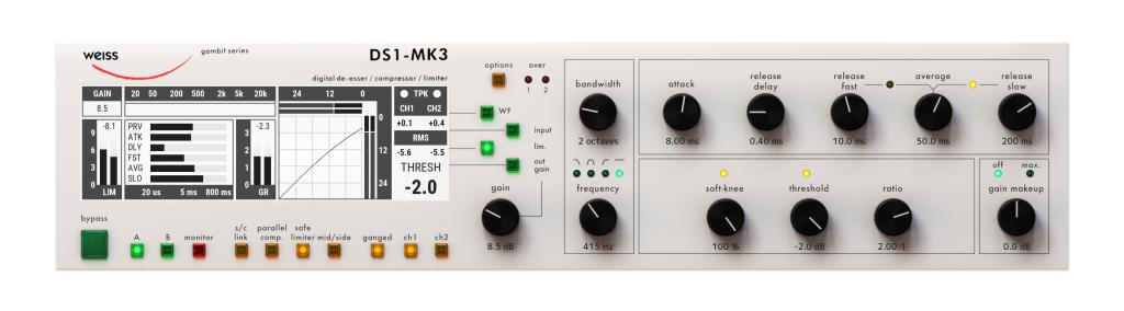 Softube Launches Official Weiss DS1-MK3 Mastering Plug-in - Gearslutz