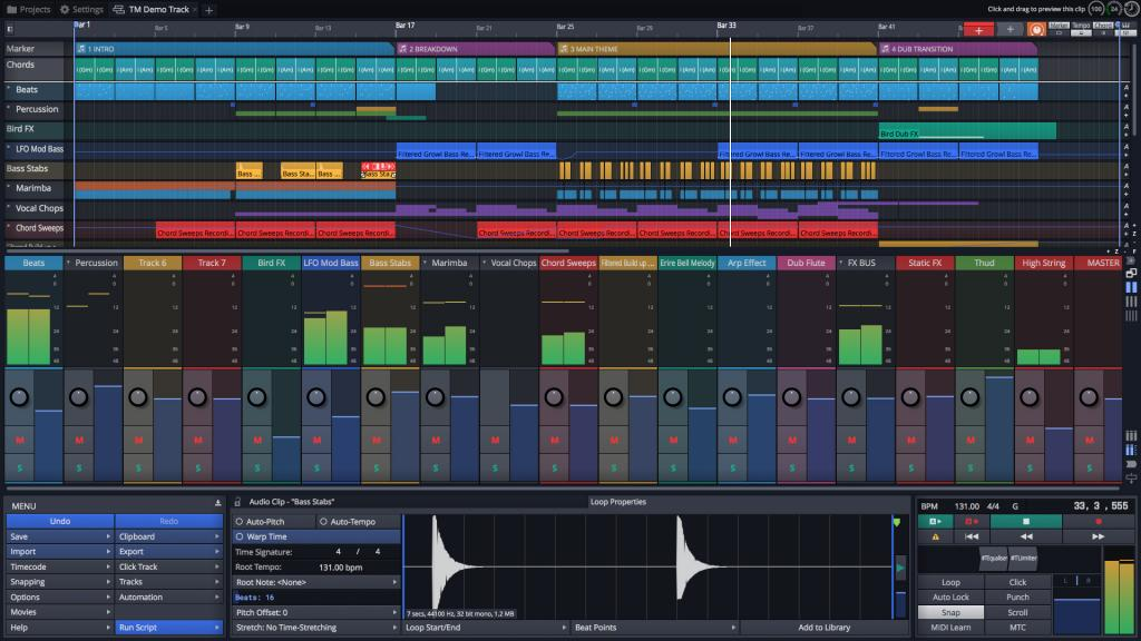 Tracktion Unveils Waveform 9 Music Production Software - Gearslutz