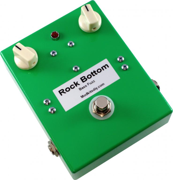 the rock bottom bass fuzz pedal kit new from mod kits diy gearslutz. Black Bedroom Furniture Sets. Home Design Ideas