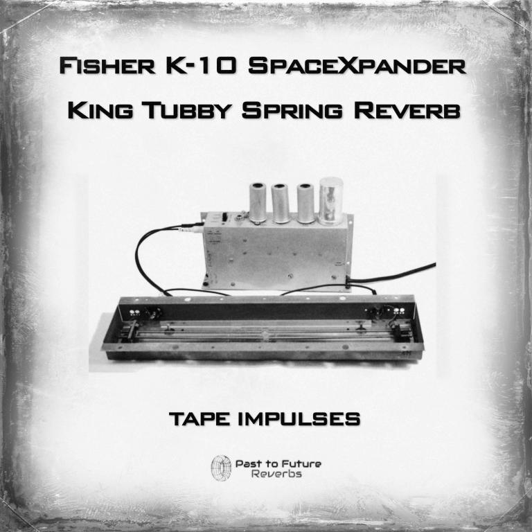 Past To future Reverbs Releases KING TUBBY SPRING REVERB