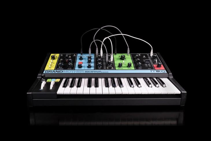 Moog Music releases Grandmother semi-modular synthesizer