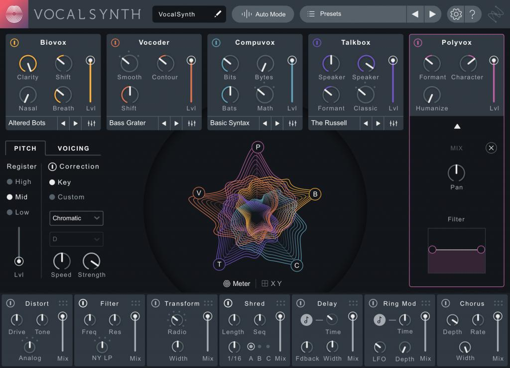 iZotope Creative Suite and VocalSynth 2 Now Available