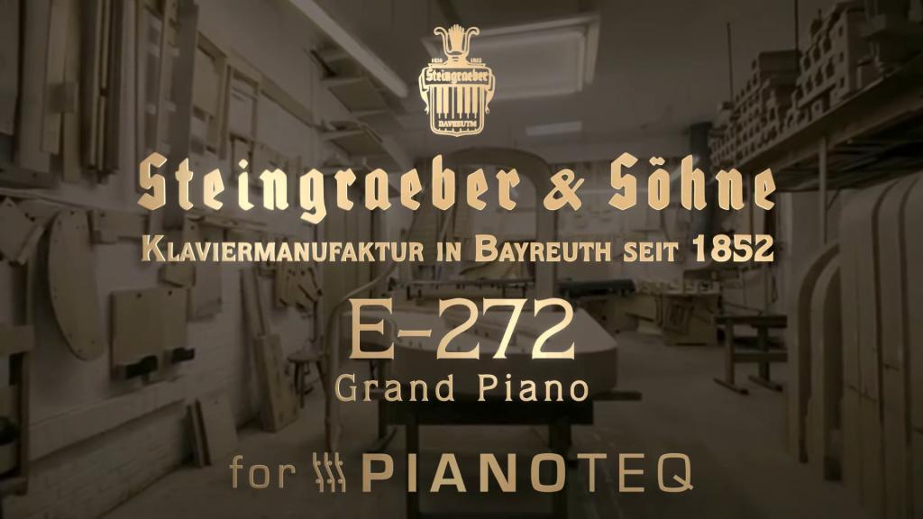 Modartt releases Steingraeber E-272 grand piano for Pianoteq