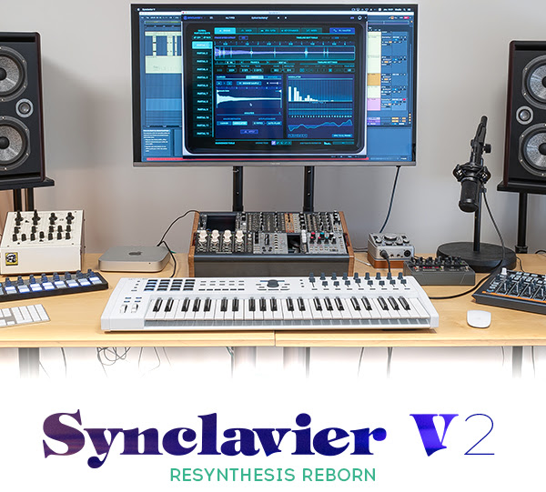 Arturia releases Synclavier V2, introduce resynthesis and sampling