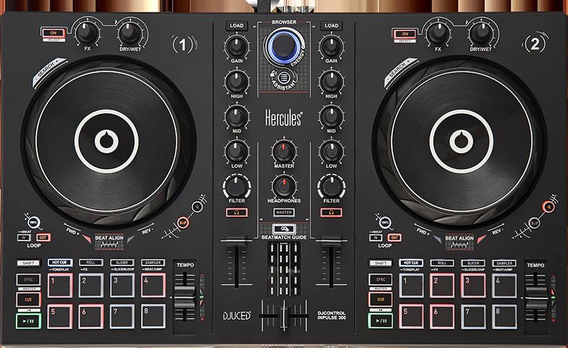 Hercules launches Inpulse 200, Inpulse 300, and the Starlight DJ