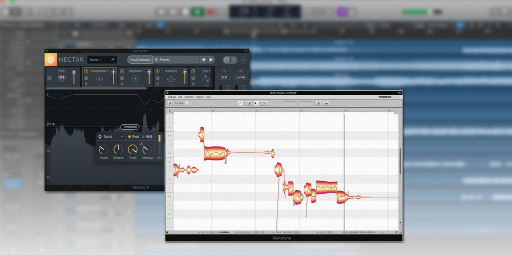 Melodyne 4 essential now bundled with iZotope Nectar 3
