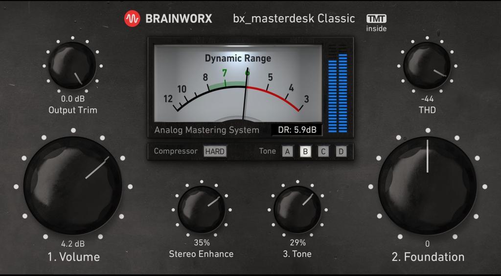 Universal Audio releases Brainworx bx_masterdesk Classic Plug-In