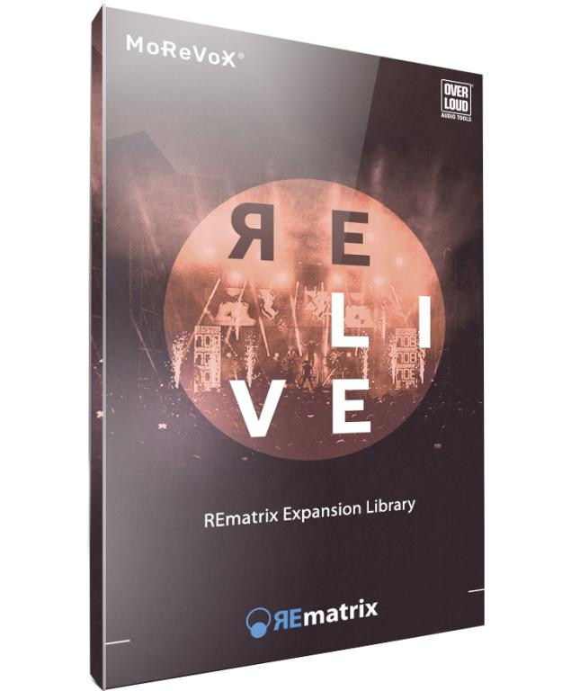 RELIVE - REmatrix Library - The first live venues IR library