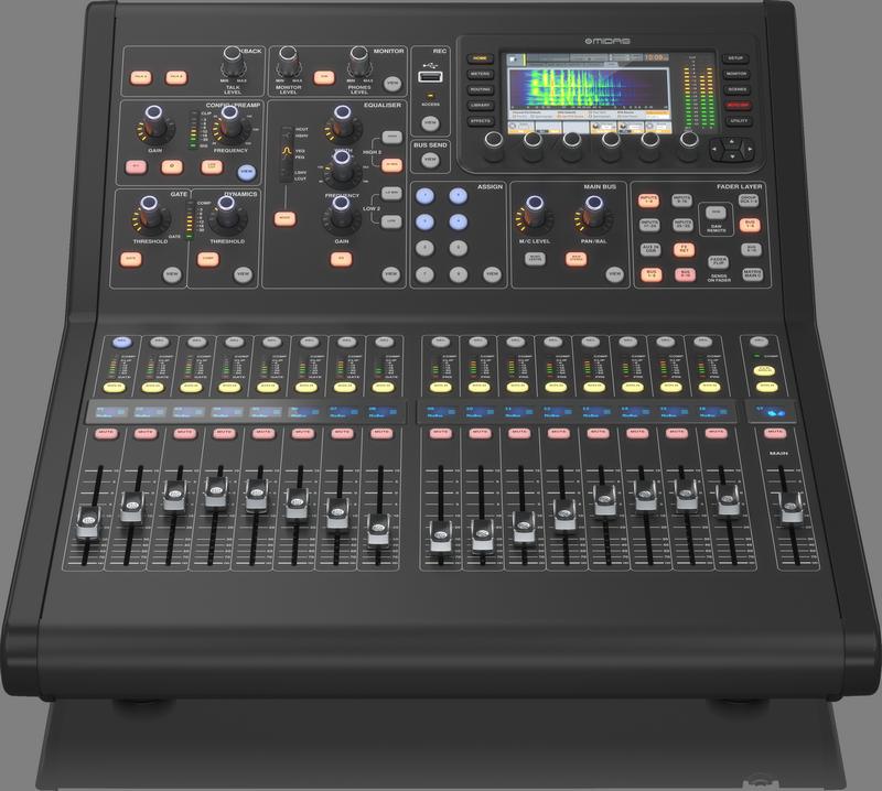 Midas announces M32R LIVE Digital Mixer - Gearslutz