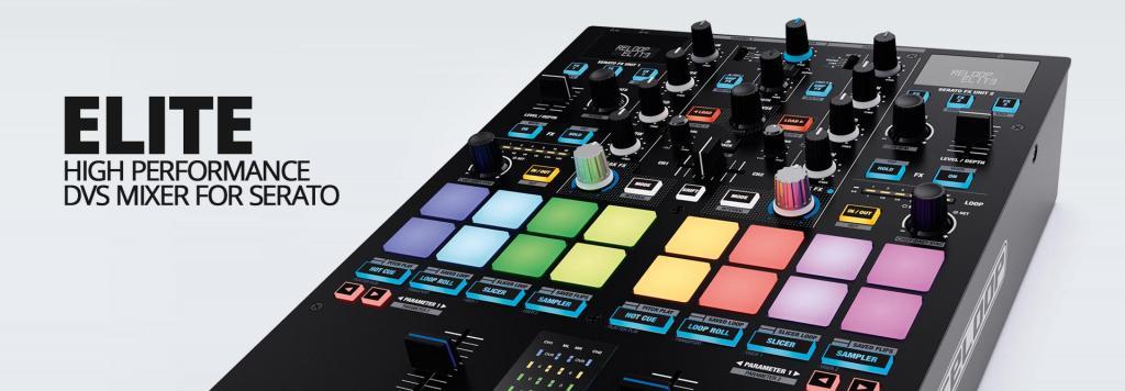 Reloop announces ELITE professional DVS mixer for Serato DJ Pro
