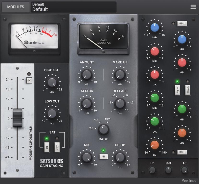 Sonimus releases Satson Channel Strip Plug-In