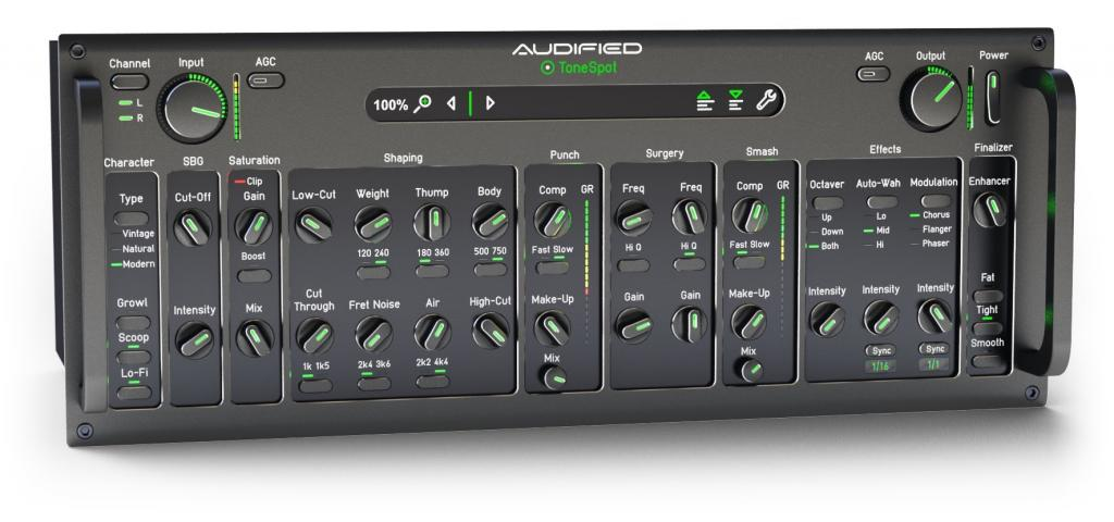 Audified releases ToneSpot Bass Pro Plug-In
