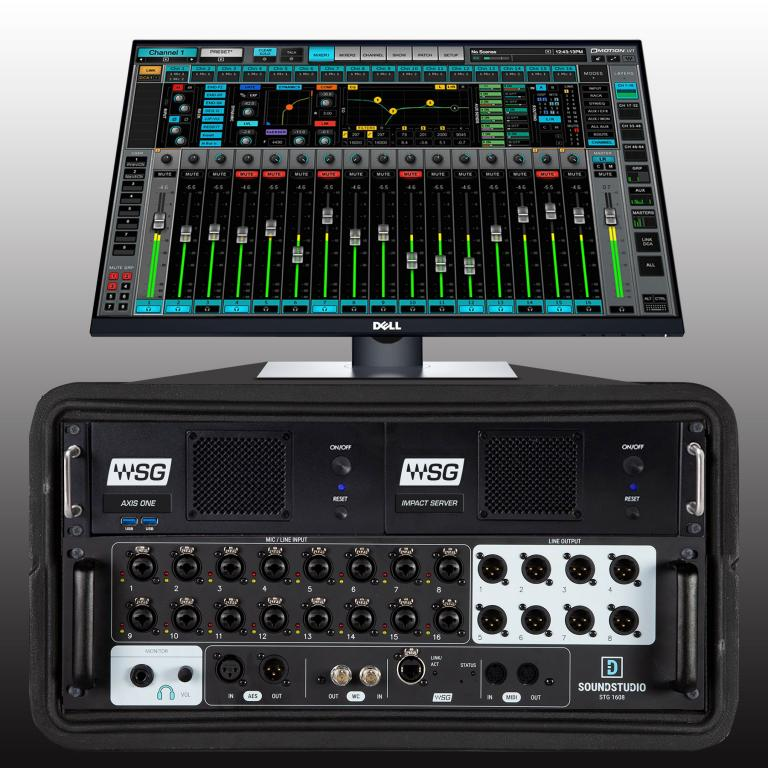 Waves Introduces the eMotion LV1 Complete Live Mixing System