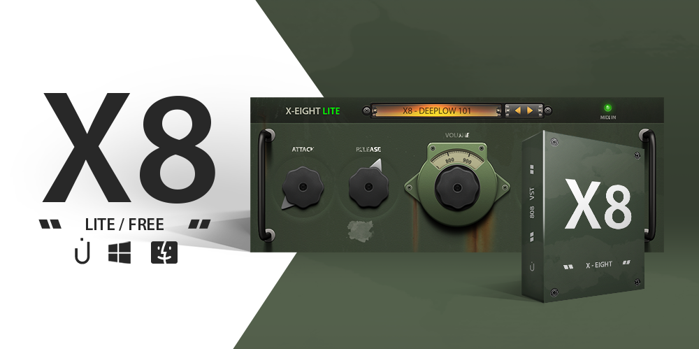 Thenatan Releases X-EIGHT (X-8) LITE, Free 808