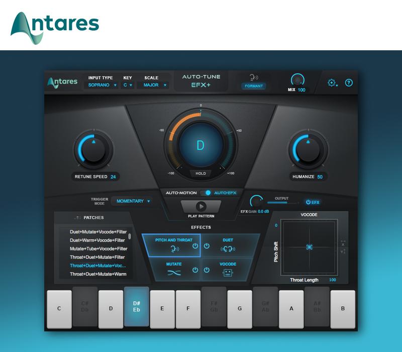 Antares Technologies Introduces Auto-Tune EFX+ - Gearslutz