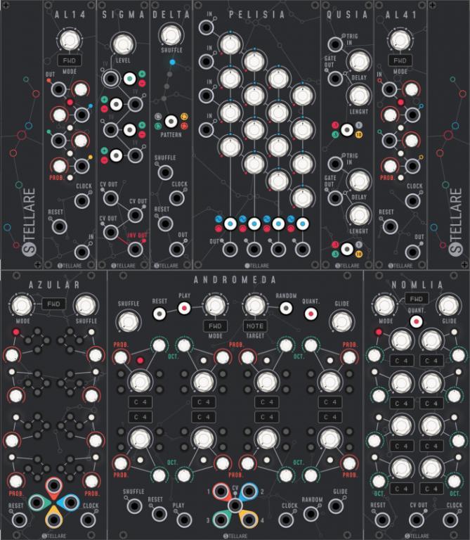 Stellare Modular releases Creative Suite for VCV Rack - Gearslutz