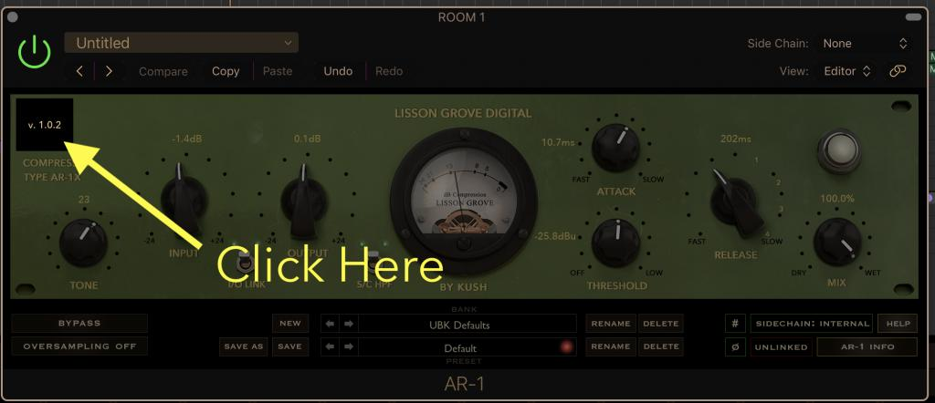 Kush AR-1: Fat, Old, Gritty Tube Compression… No iLok Dongle! - Page