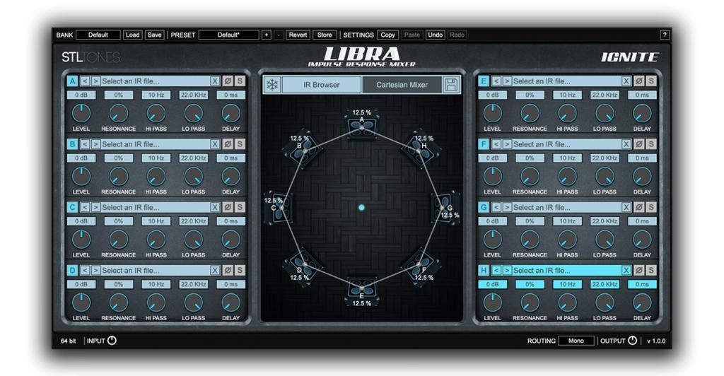 STL Tones / Ignite LIBRA Impulse Response Mixer Now Available