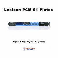 Past To Future Releases Lexicon PCM 91 Plates-lexicon-pcm-91-plates-cover.jpg