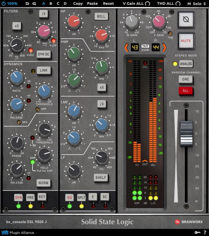 Solid State Logic S 9000 J Joins Brainworx S Ssl Console Series Gearslutz