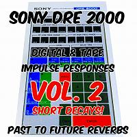 SONY DRE 2000 REVERB IR's VOL. 2 SHORT DECAYS by PTF Reverbs-sony-dre-2000-short-decays-cover.jpg