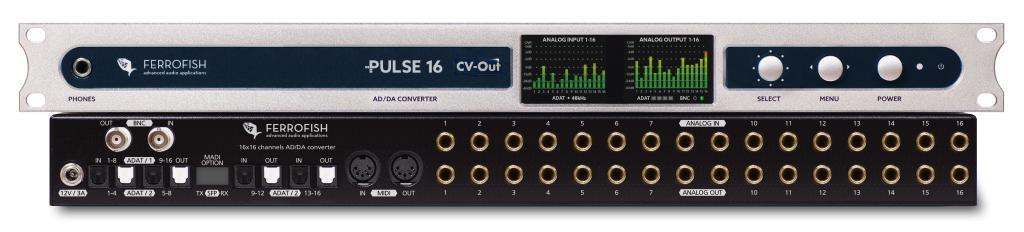 Ferrofish Announces New PULSE16 CV Out Converter