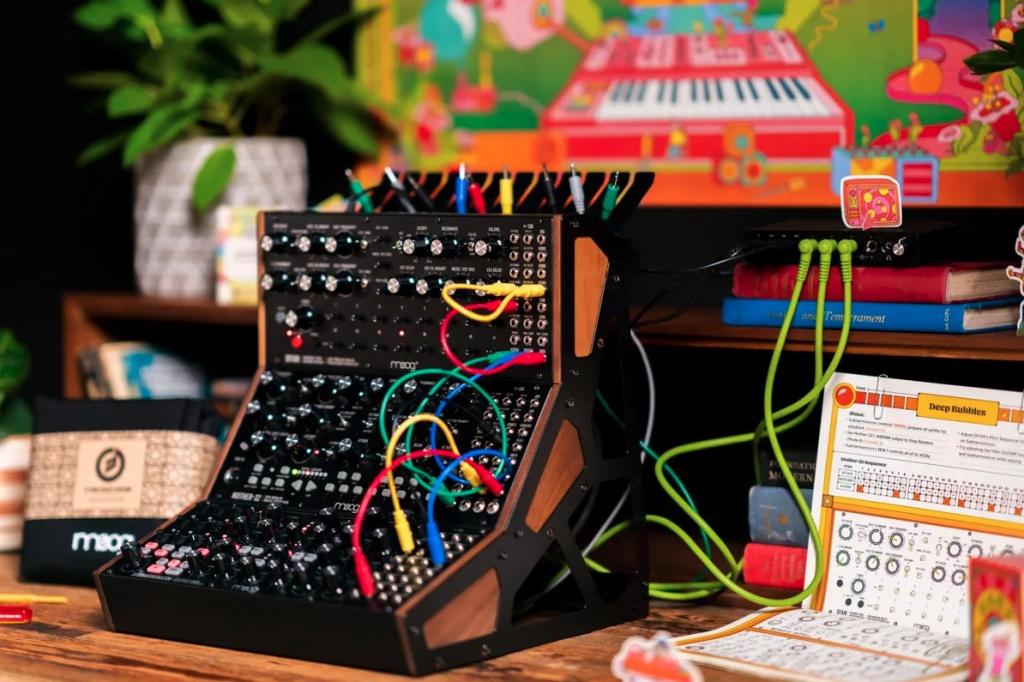 Moog Music releases Moog Sound Studio with Mother-32 & DFAM & Subharmonicon