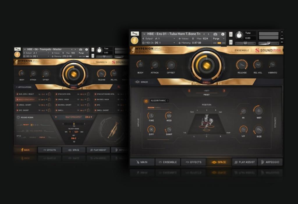 Soundiron releases Hyperion Brass Elements