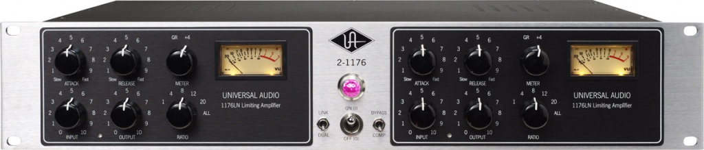 UA 2-1176 Twin Vintage Limiting Amplifier