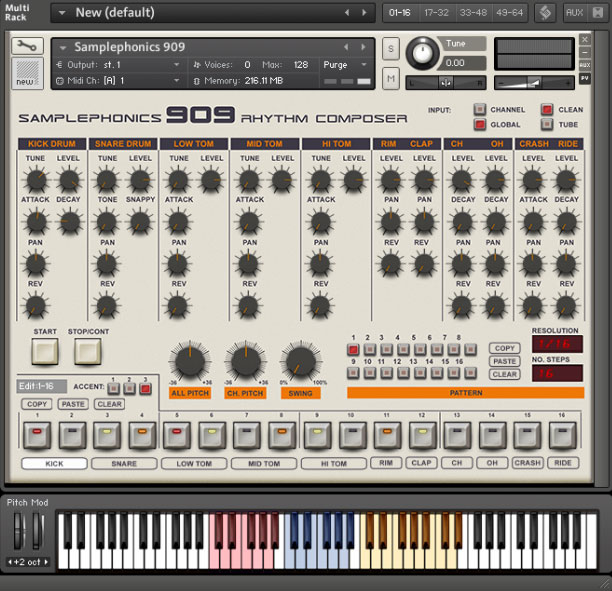 909 Rhythm Composer