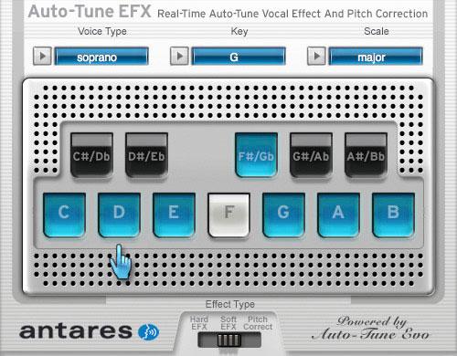 auto tune 8.1 settings