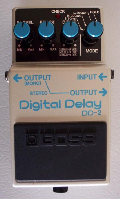 DD-2 Digital Delay Pedal