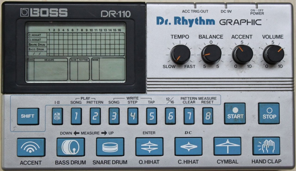Dr-110 Drum Machine