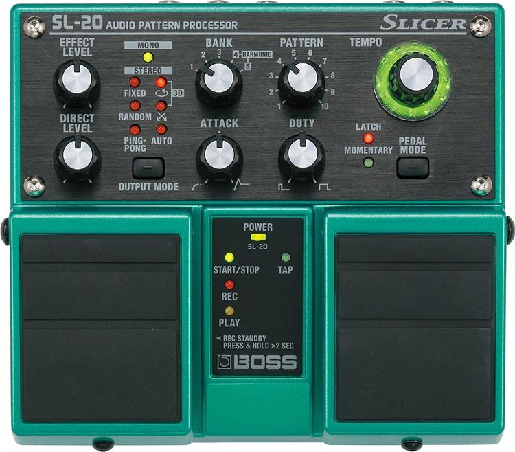SL-20 Slicer Pedal Audio Pattern Processor