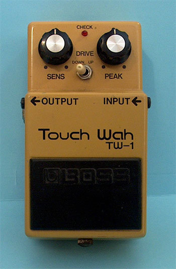 TW-1 Touch Wah Pedal