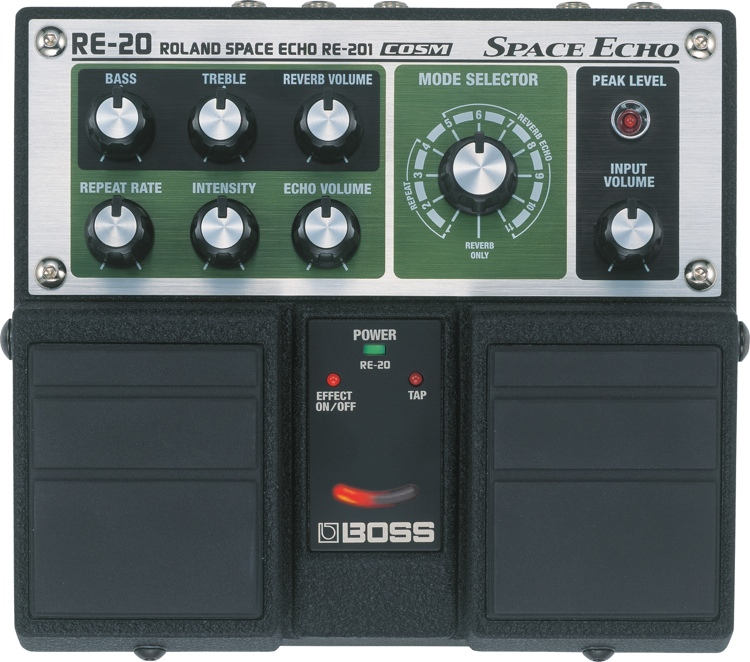 RE-20 Space Echo Pedal