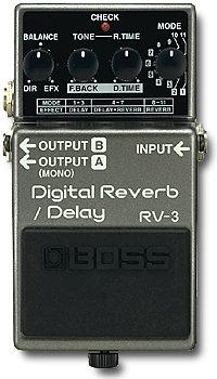 RV-3 Digital Reverb/Delay Pedal