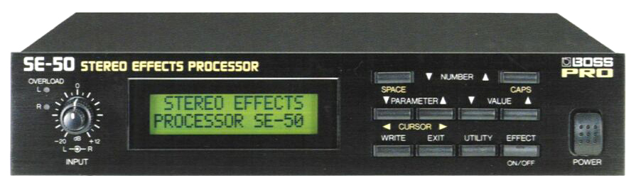 SE-50 Stereo Effects Processor