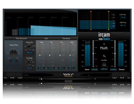 Ircam Flux Verb Session