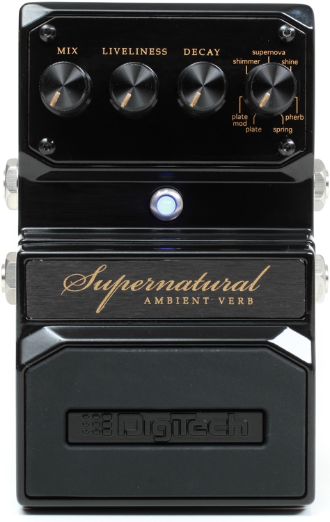 Supernatural Ambient Stereo Reverb Pedal