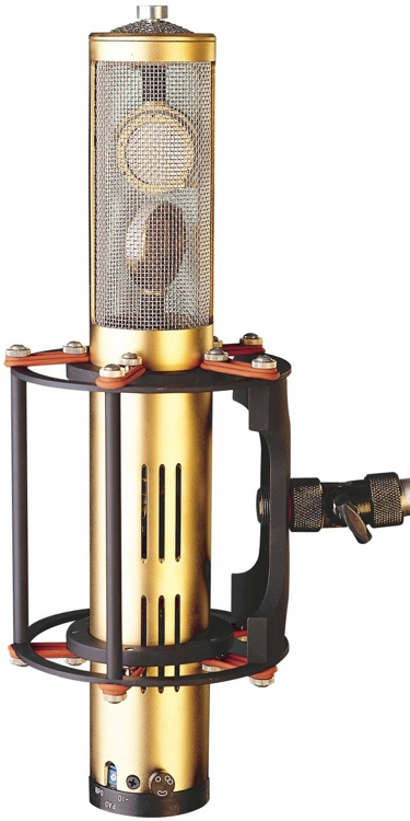 Gold Reference Stereo Microphone