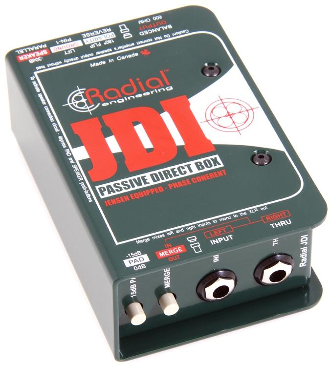 radial jdi passive direct box user review gearslutz pro audio community. Black Bedroom Furniture Sets. Home Design Ideas