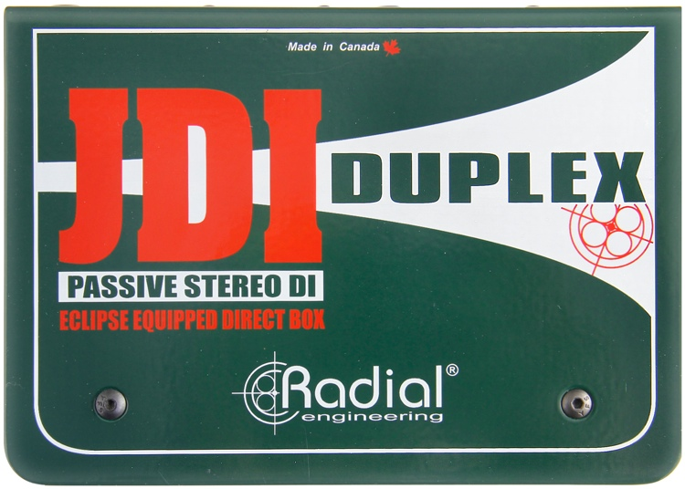 Radial JDI Passive Direct Box.