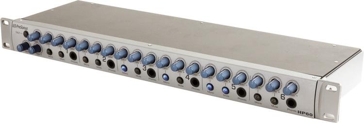 Presonus HP60 6 channel headphone mix system