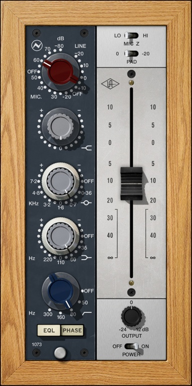 Neve 1073 Preamp & EQ Plug-In Collection