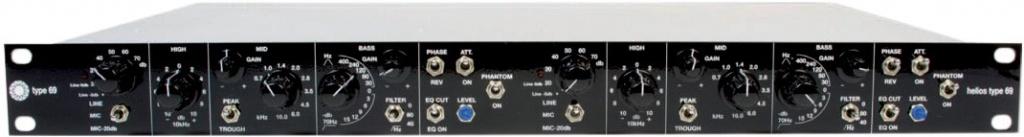 1R Stereo Type 69 Mic Pre/Eq