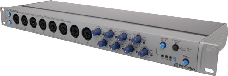 Presonus Digimax FS 8-ch preamp, converter