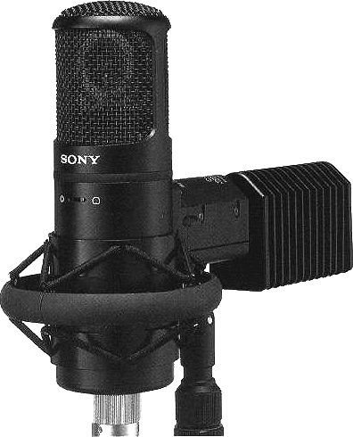 Sony C-800G tube microphone