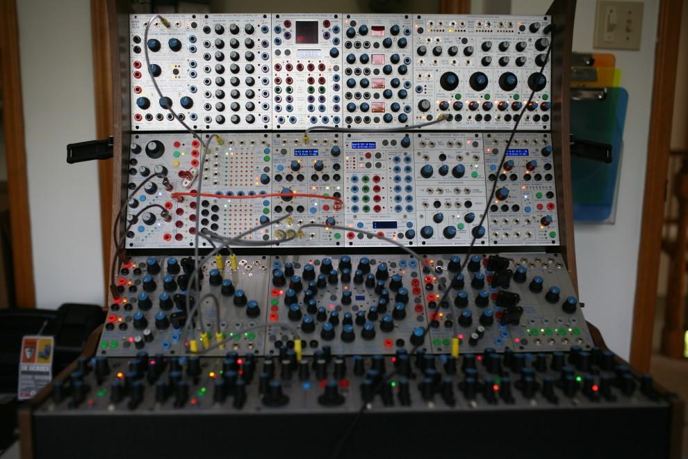 Buchla 200e modular analog synthesizer
