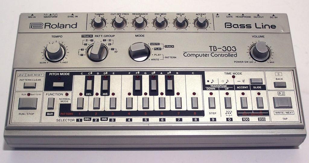 TB-303 Bass Line